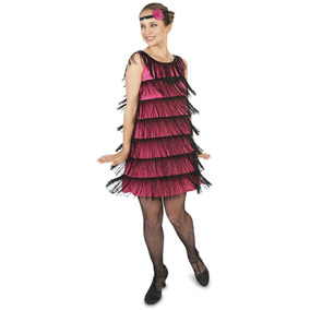 Charleston Para MujerTallaS 1920 Disfraz Vestido dCoeBQrxWE