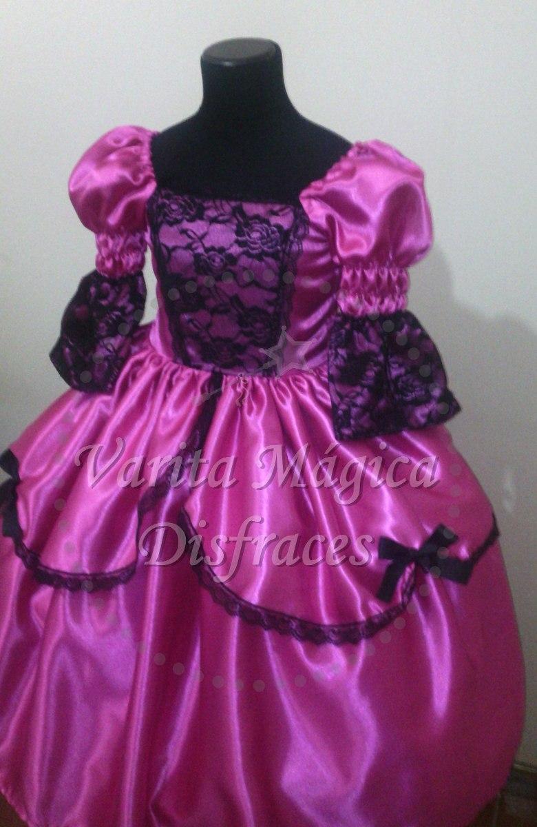 Disfraz Vestido Dama Antigua - $ 780,00 en Mercado Libre