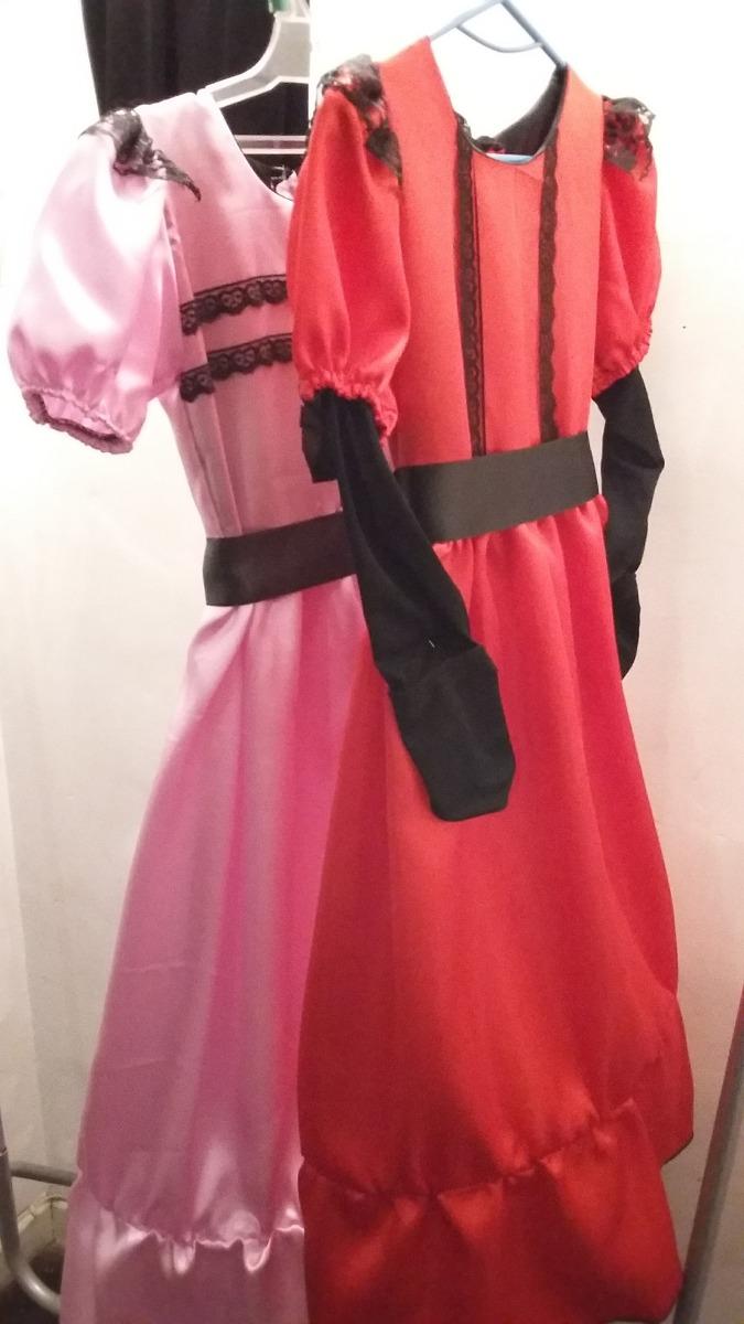 Disfraz Vestido Dama Antigua Fiesta Patria Guantes - $ 350,00 en ...