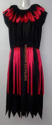 disfraz vestido de bruja