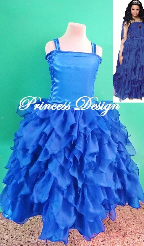 Vestido de evie descendientes azul