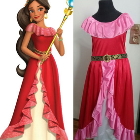 Disfraz Vestido Elena De Avalor O Blancanieves