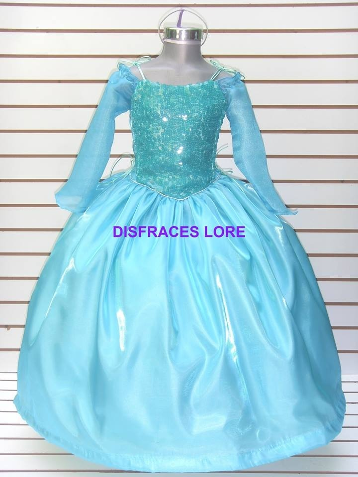 e52601a2a disfraz vestido elsa frozen de lujo anna sofia bella niñas. Cargando zoom.