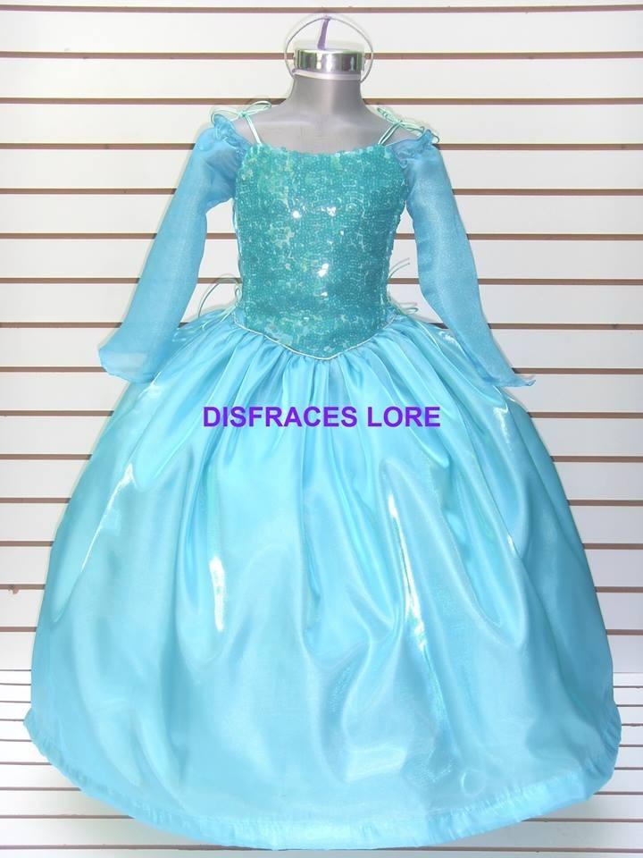 44e44ecd5 disfraz vestido elsa frozen de lujo anna sofia bella niñas. Cargando zoom.