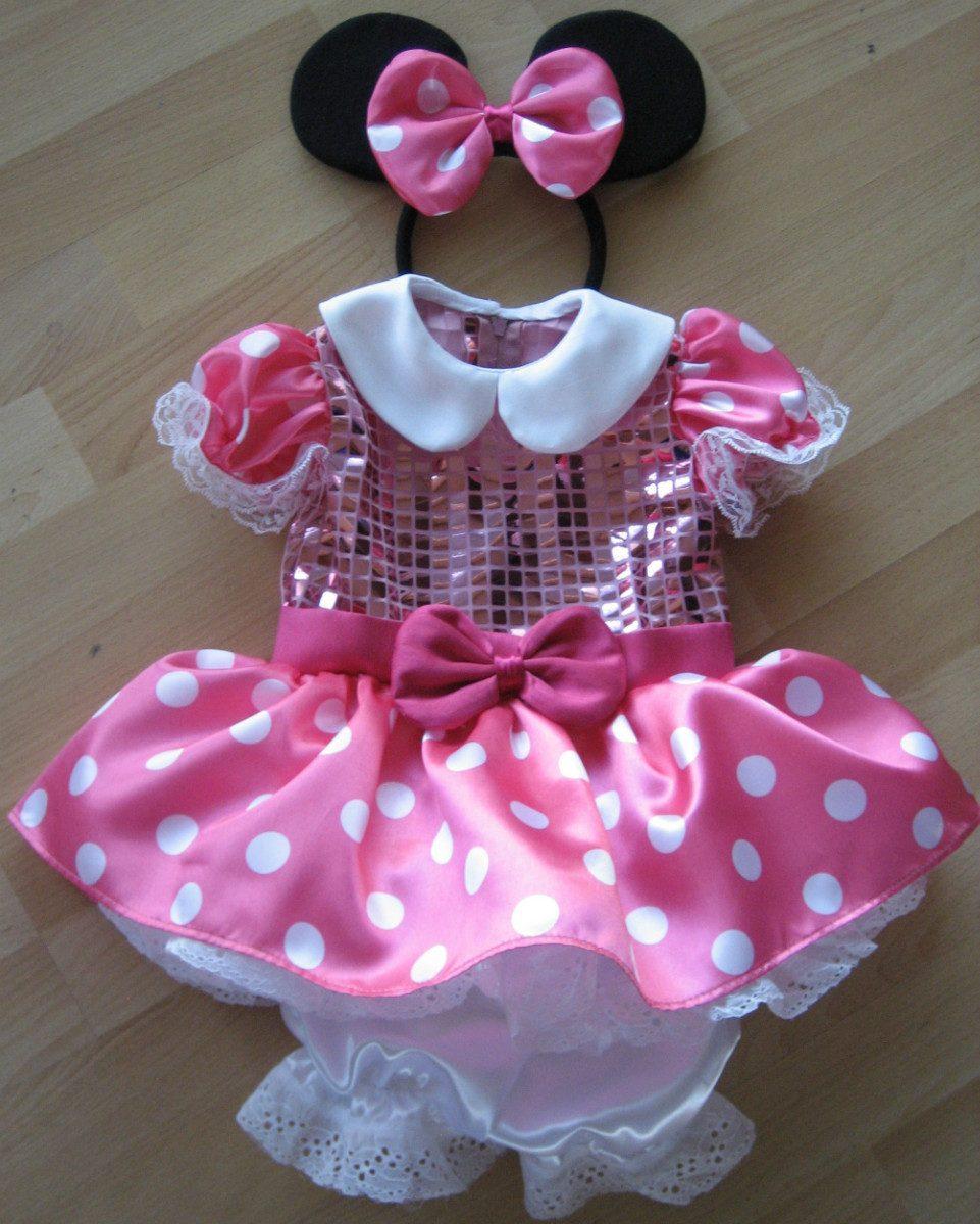 Disfraz Vestido Estilo Disfraz Mimi Minnie Mouse