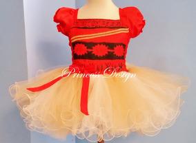 Disfraz Vestido Moana Tutu