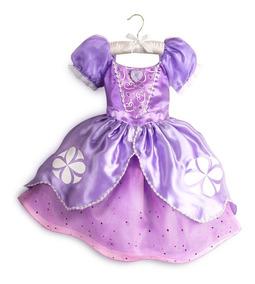 Disfraz Vestido Original Princesa Sofia Disney Store Eeuu