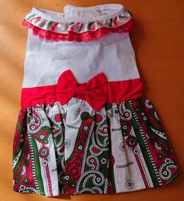 Disfraz Vestido Para El 16 De Septiembre Talla 3