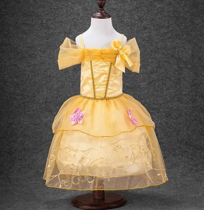 Disfraz Vestido Para Niña Bella Y La Bestia Disney 2 3 Años