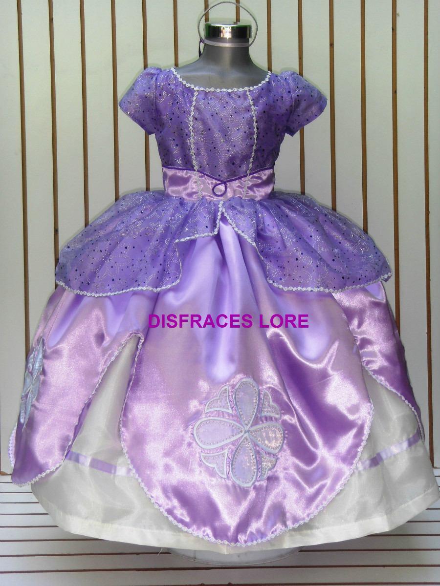 Vestido Princesa Sofia - Disfraces para Niñas en Mercado Libre México