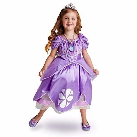 Disfraz Vestido Princesa Sofia Original Disney Parks Tiara