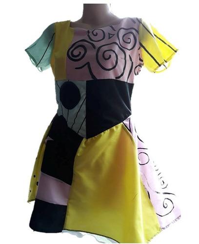 disfraz vestido sally m adulto