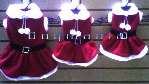 disfraz vestido santa claus talla 3 navidad envío gratis