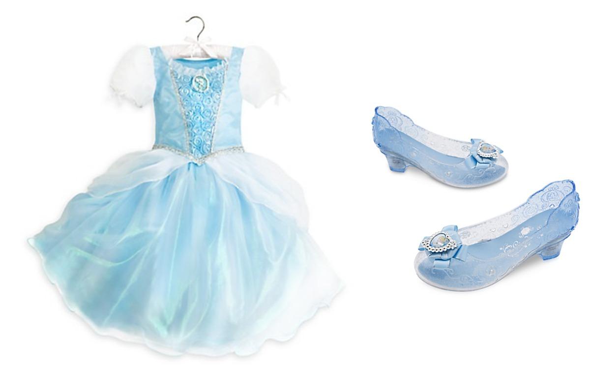 Usa 699 Cenicienta 2 Disney Zapatos La Store Vestido Disfraz Y xzq0xI