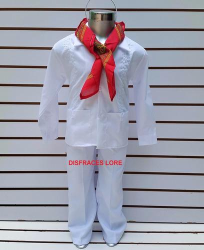 disfraz yucateco traje tipico yucatan niño