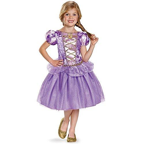 disfrazar rapunzel princesa de disney tangled traje clásico