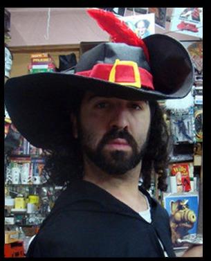 dc95cac81f316 Disfrazate Del Gato Con Botas! Sombrero Mosquetero