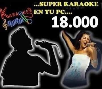 disfruta tu karaoke full pack + letras + 18000 canciones