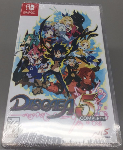 disgaea 5 complete nintendo switch nuevo sellado disponible