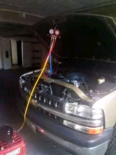 disgnostico en aire acondicionado automotriz