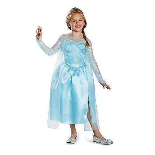 disguise disney 's frozen elsa snow queen vestido classic c