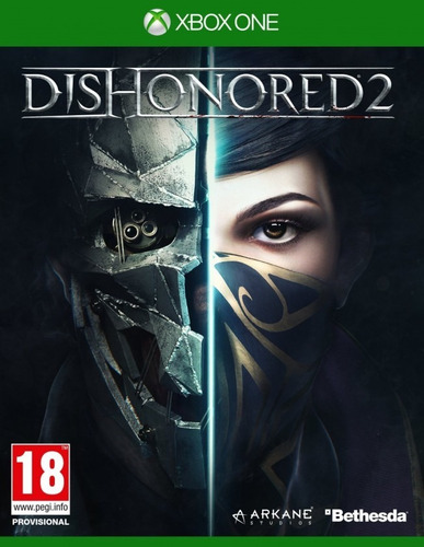 dishonored 2 xbox one (codigo)