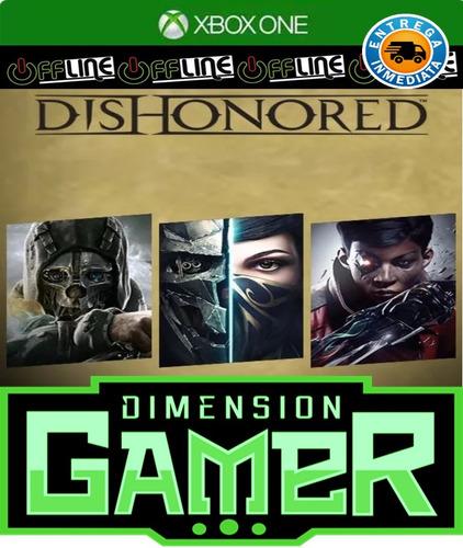 dishonored collection  - xbox one - no codigo - off-line