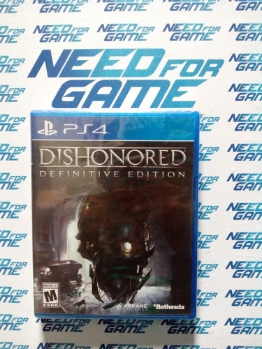dishonored definitive edition ps4 delivery nfg