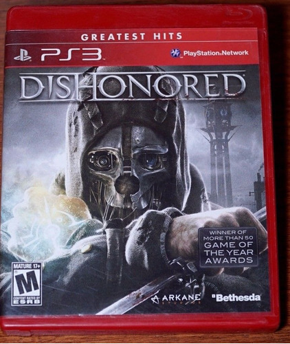 dishonored greatest hits ps3