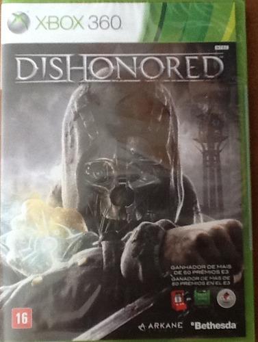 dishonored para xbox 360