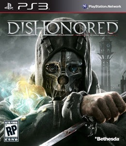dishonored - ps3 - mídia física