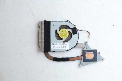disipador con ventilador acer v5 431 acds047