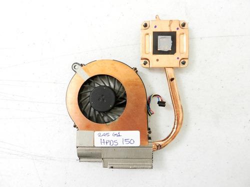disipador con ventilador hp 245 g1 tdahyz5d7b hpds150