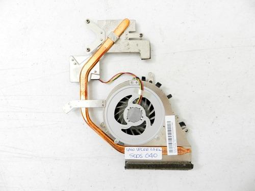 disipador con ventilador sony vaio vpcee23el sods040