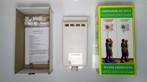 disipador de agua para aire acondicionado split