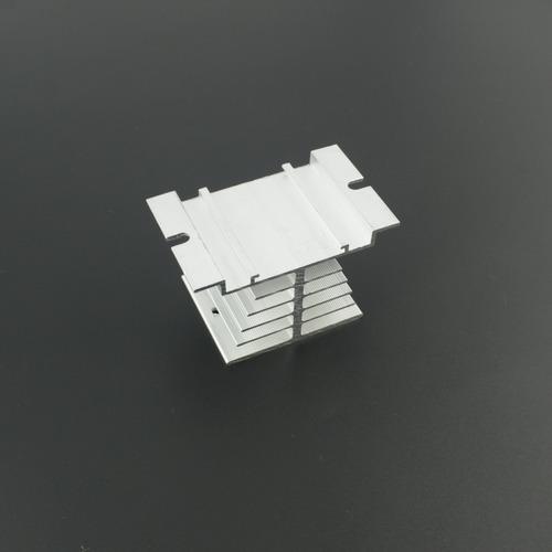 disipador de aluminio para rele de estado solido ssr