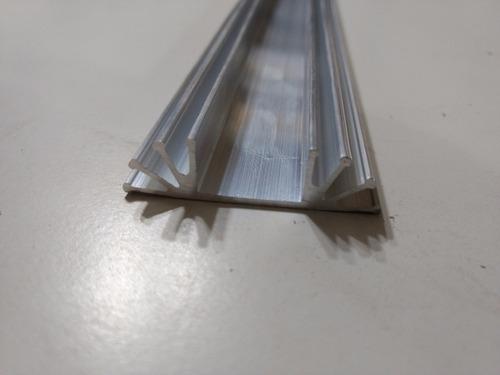 disipador de calor aluminio zd3 x100cm zd3 x1 mt electrónica