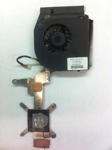 disipador de calor + cooler fan cpu/p  hp se 431450-001