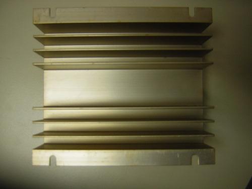 disipador de calor de aluminio