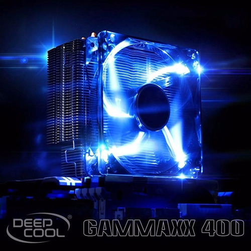 disipador - deepcool gammaxx 400 - led azul