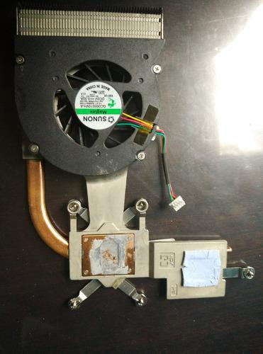 disipador ventilador para portátil dell inspiron