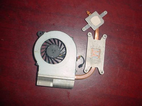 disipador y ventilador compaq presario cq62