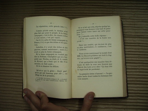 disjecta membra - barbey d´aurevilly ( 2 tomos )