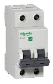 disjuntor easy9 2p 10a curva b - 3000a; schneider ez9f13210