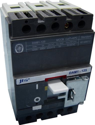 disjuntor em caixa moldada jng dam1-125n 25a