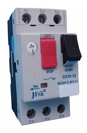 disjuntor motor tripolar jng dzx8-32 17~23a