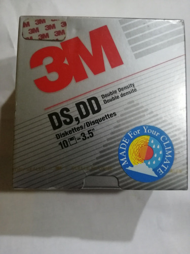 diskette 1.44mb nuevos 3m antigüedad