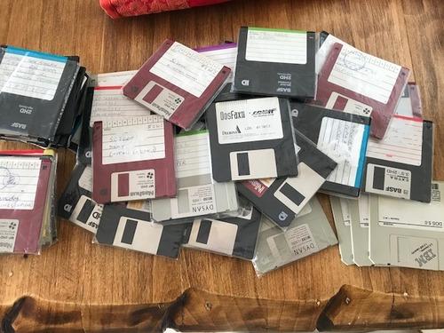 diskettes 2hd 3.5 capacidad 1,44 mb - lote 60 unidades