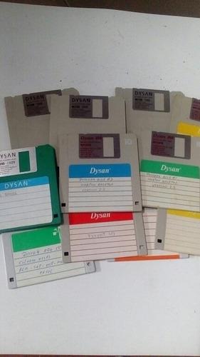 diskettes de 3.5 usados
