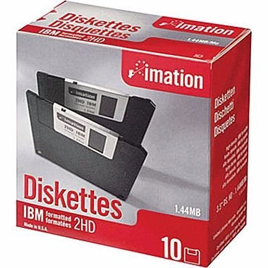 diskettes imation 3.5  - 1.44mb (made in u.s.a.)